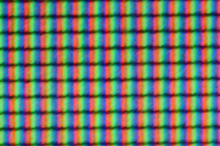 50X magnification of a typical LCD screen