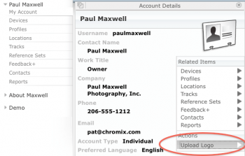 Expand the Account Details pane